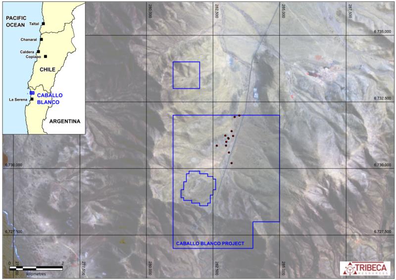 Caballo Blanco Project Location