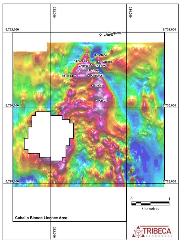 Caballo Blanco RTP Ground Magnetic Image