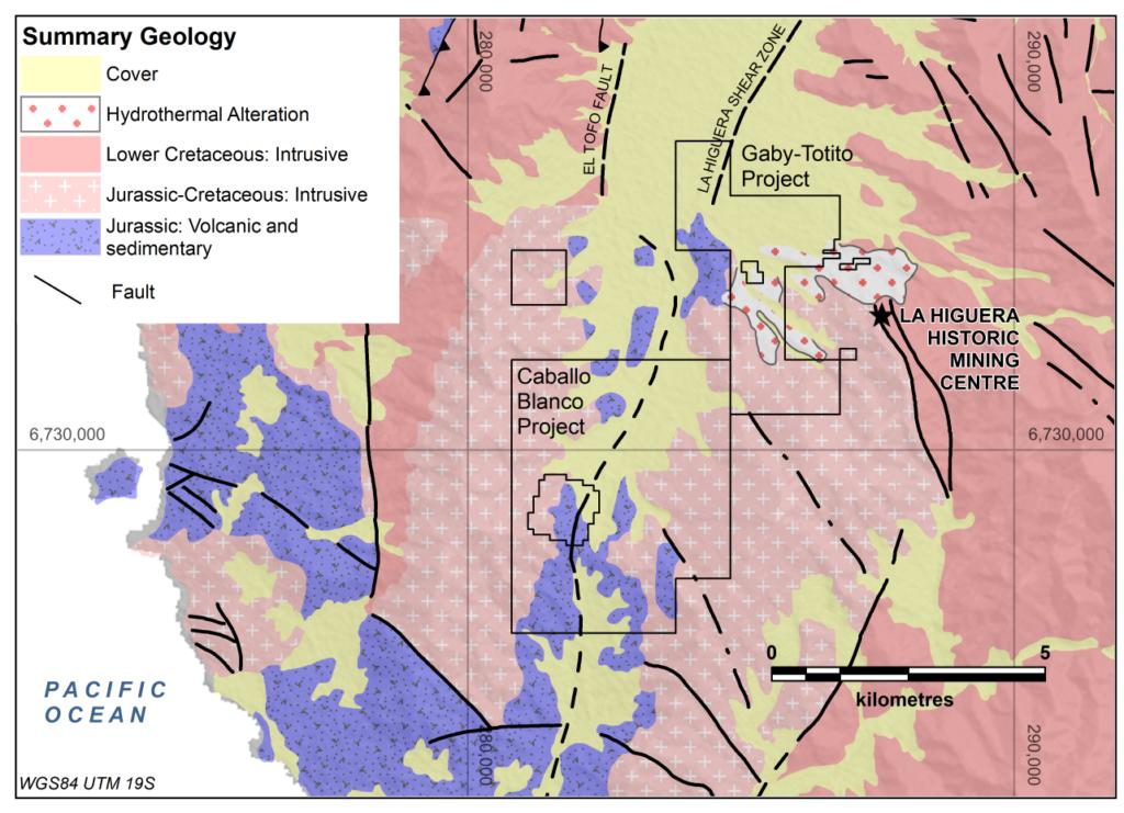 Gaby-Totito Location Map
